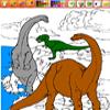Pinta a los Dinosaurios