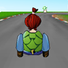 Crazy Turtle Car Racing