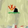 Salto del acantilado del mono
